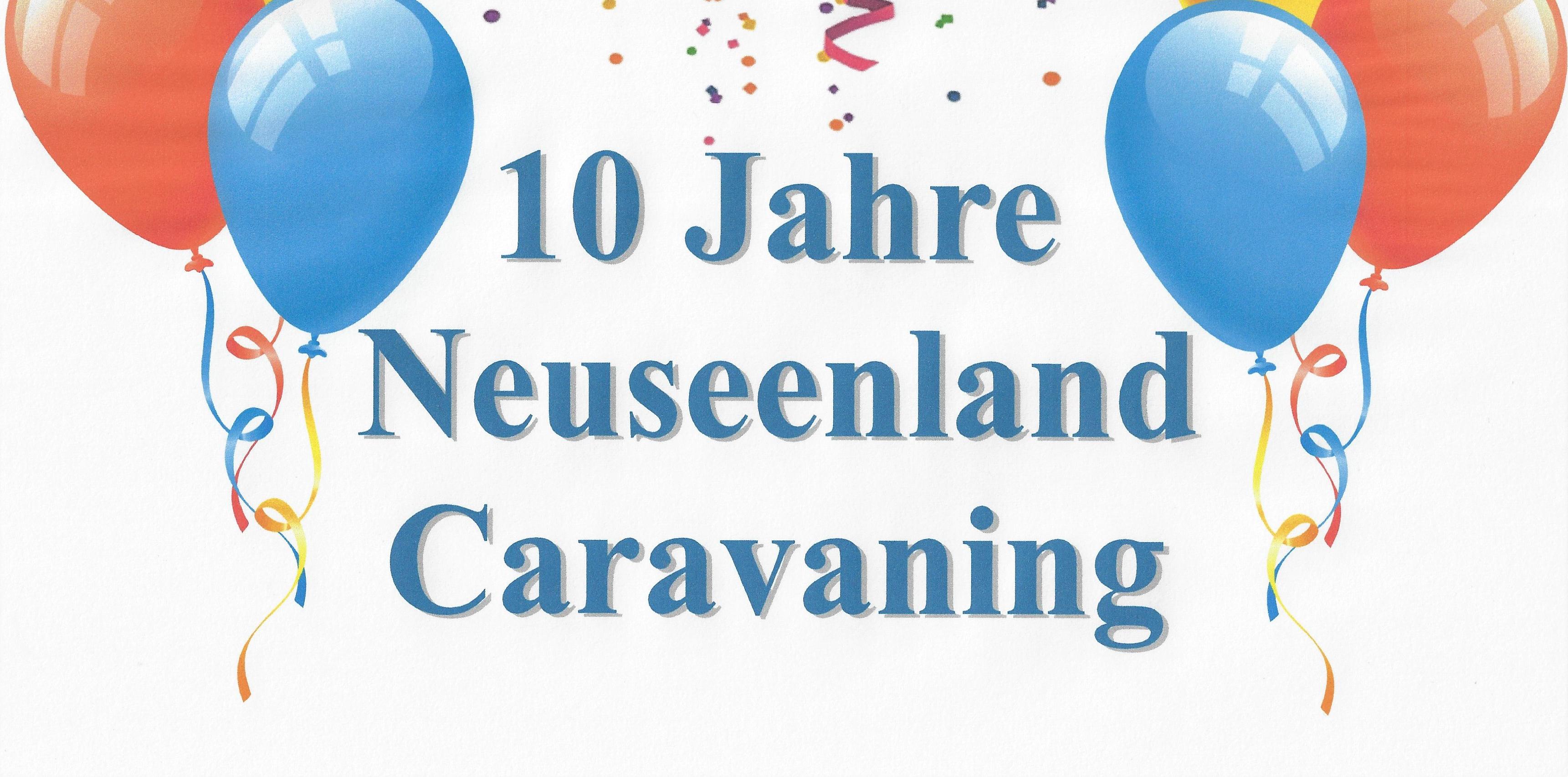 10 Jahre Neuseenland Caravaning